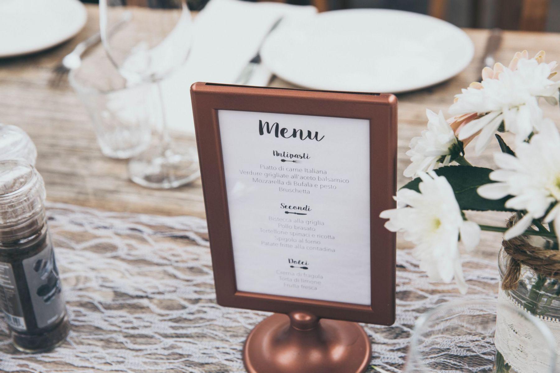 Cartas y Menús Restaurante